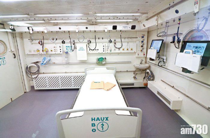 Haux-QUADRO camera hiperbara multiloc